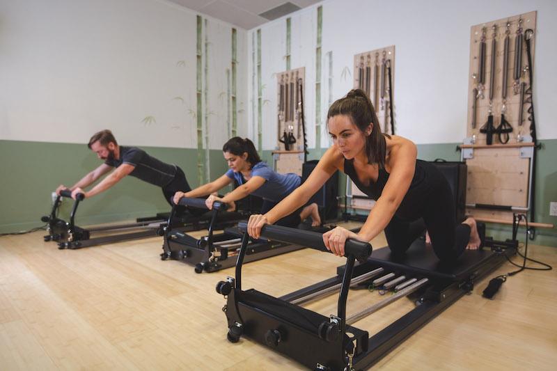 2018 Tone Pilates Beginner Series Body Desktop Reformer Knee Stretches 800X533