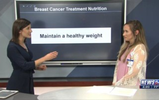 Eating well during breast cancer treatment