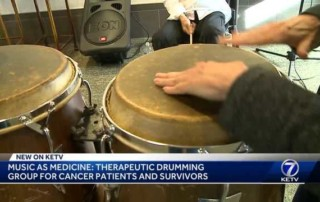 Music as medicine: Therapeutic drumming group for cancer patients