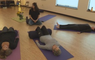 BUDDY CHECK 7: Yoga for breast cancer survivors