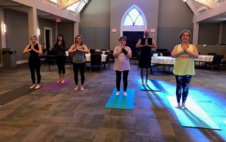 Yoga provides 'mental quiet place' for cancer warriors