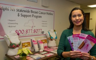 Speaking awareness: Breast cancer support group reaching across cultures
