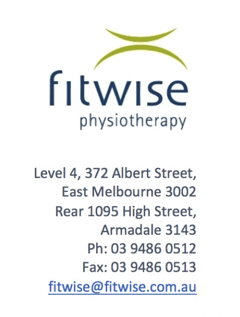 Fitwise logo and details