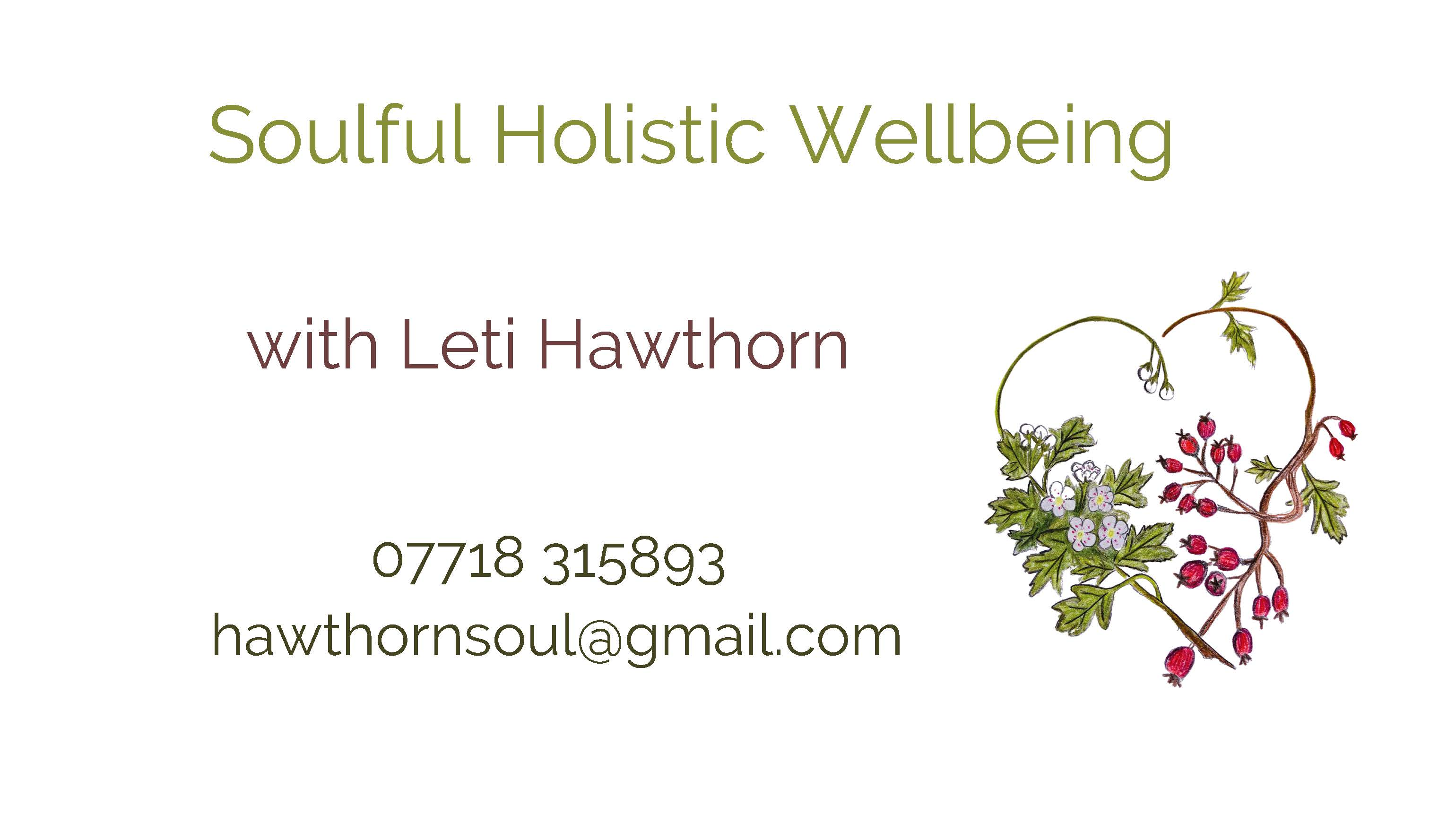Soulful Holistic Wellbeing Page 1 1